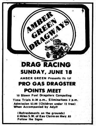 Wisconsin Drag Strip History