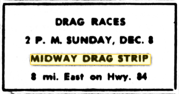 Have removed East texas drag strip so? Your