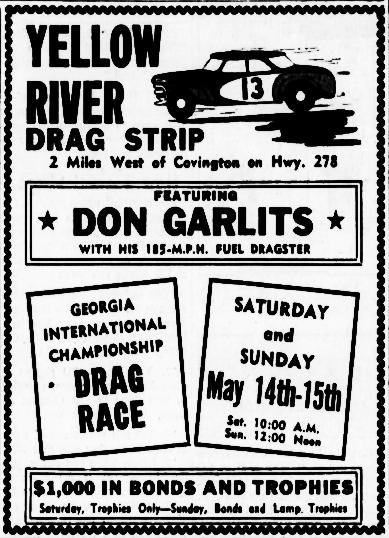 Georgia Drag Strip History